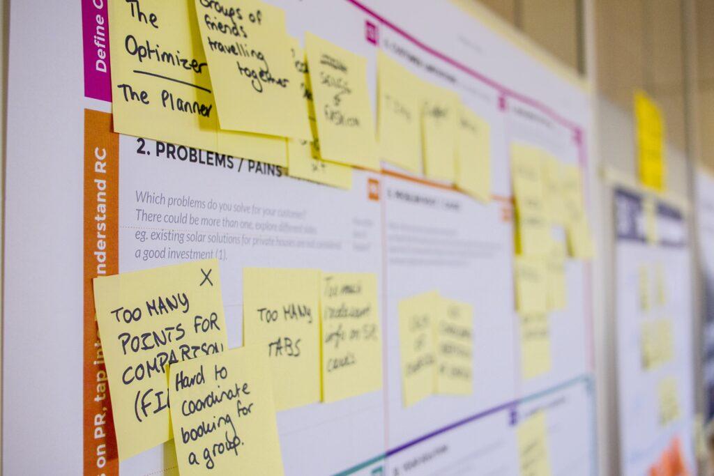 post it and agile manifesto