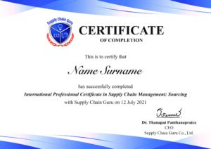 International Professional Certificate in Supply Chain Management_Sourcing-min