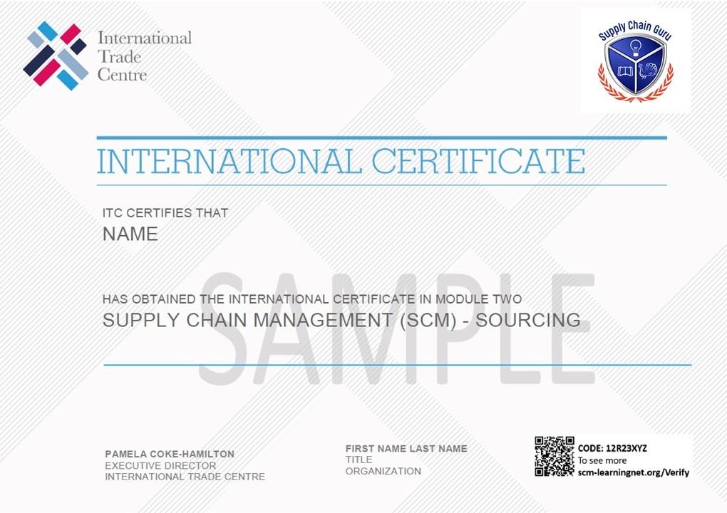 Sample of Module 2 Certificate