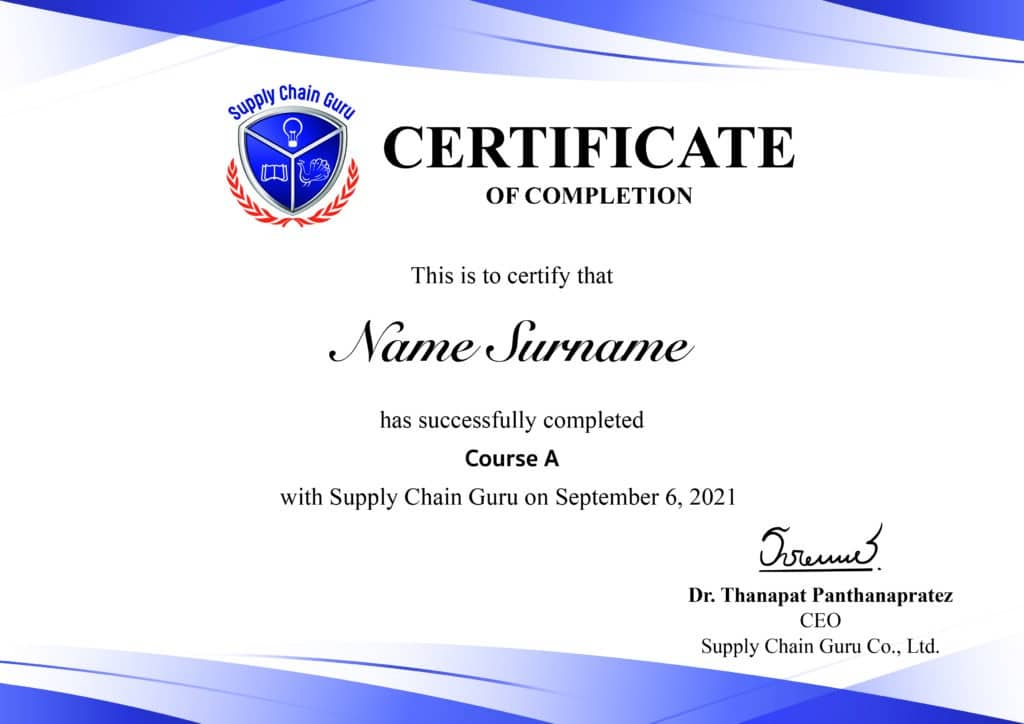 Certificate for course template-min
